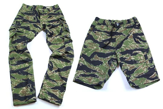 Mark McNairy for Standard - Tiger Camo Pants & Shorts