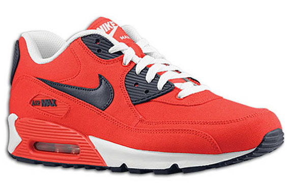 Nike Air Max 90 – Action Red – Obsidian