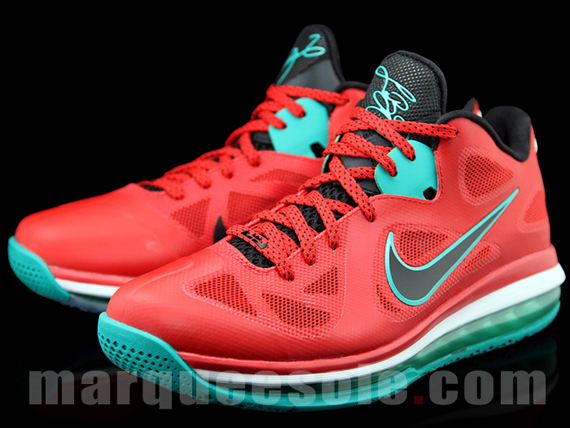 """Liverpool"" Nike LeBron 9 Low"