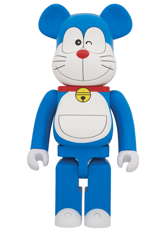 Doraemon x MEDICOM TOY - BE@RBRICK 100%, 400% + 1000%