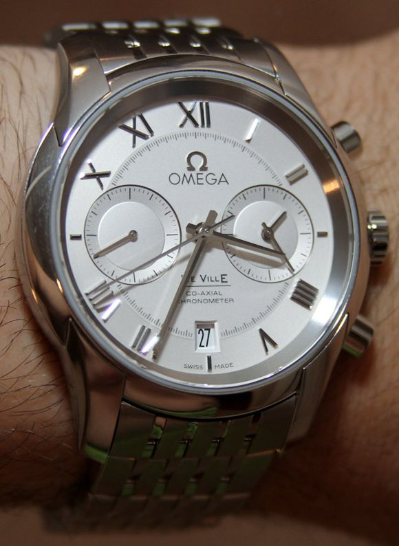 Omega De Ville Co-Axial Chronograph Watch Review