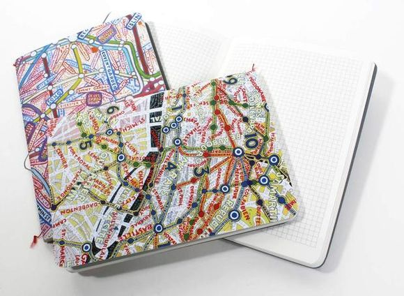 Paula Scher MAPS Mini Journals Notebooks
