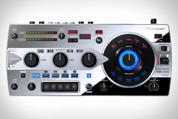 Pioneer RMX-1000 Remix Station Platinum Edition