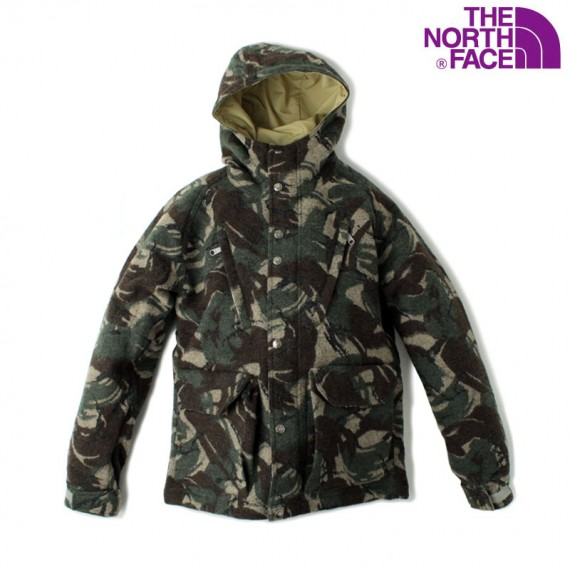 The North Face Purple Label - Wool Mountain Parka + Pants - Camouflage Pack