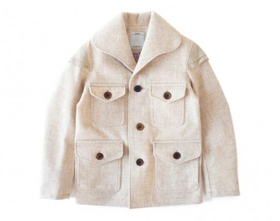 visvim x Harris Tweed - Orion Tweed 2L Gore-Tex Jacket