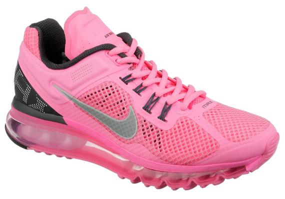 Nike WMNS Air Max+ 2013 – Pink – Black – Silver