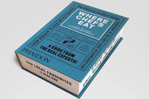 Phaidon 'Where Chefs Eat'