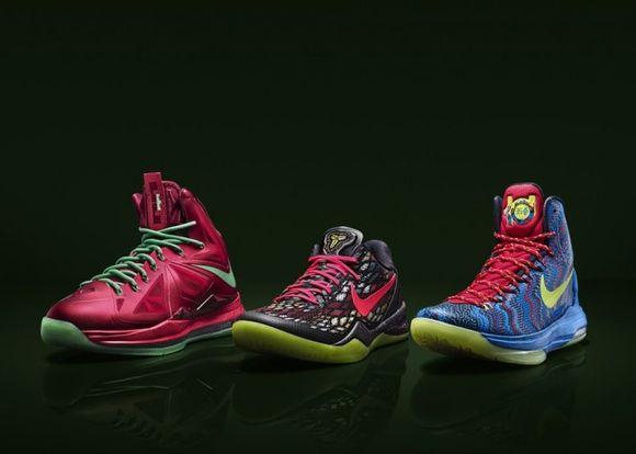 Nike Basketball 'Christmas' Pack