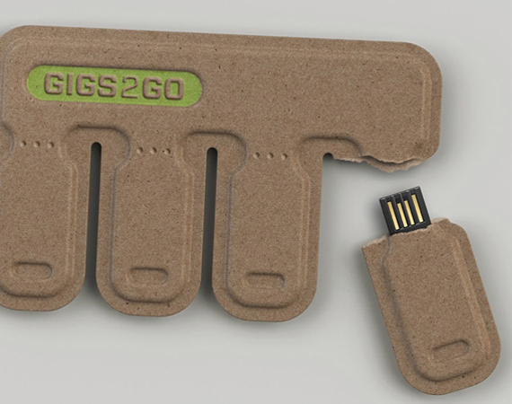 BOLTgroup – GIGS.2.GO Tear-and-Share USB Drives