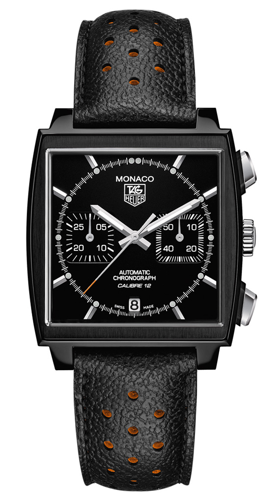 TAG Heuer – Monaco Calibre 12 Automatic Chronograph ACM Limited Edition Watch
