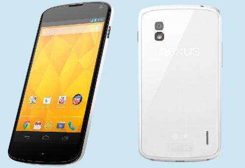 LG White Nexus 4