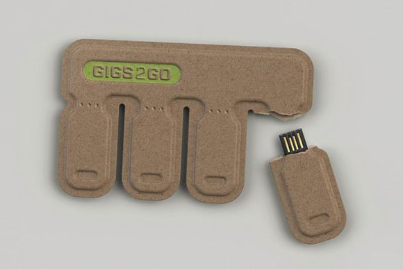 GIGS.2.GO Tear and Share USB Flash Drives