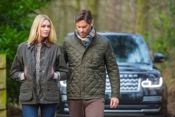 Barbour for Land Rover Fall 2014 Collection