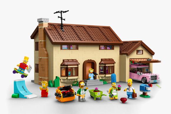 LEGO 'The Simpsons' House Set