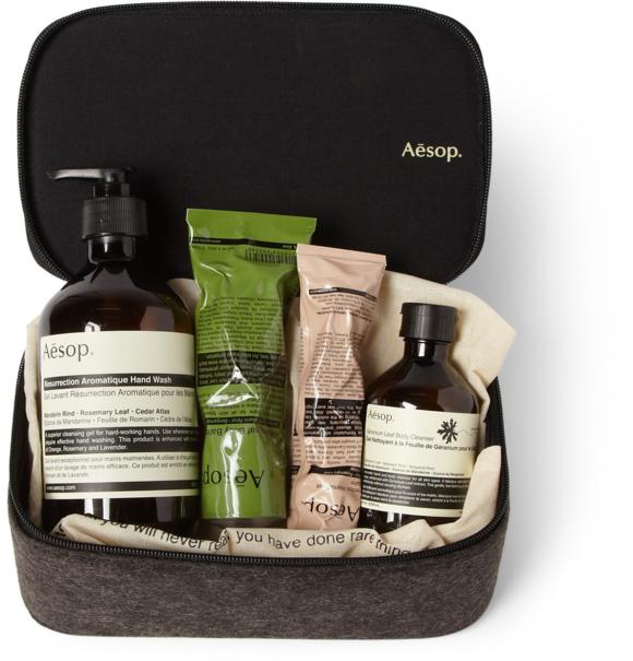 Aesop 'Preen' Grooming Kit