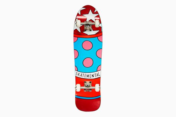 Skate Mental x Parra Cruiser Complete Skateboard