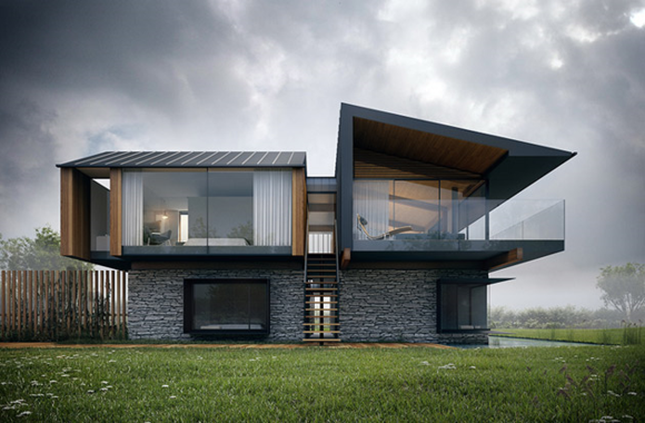 Silver House by Hyde & Hyde Architects