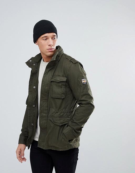 Superdry Fleece Lined Field Jacket