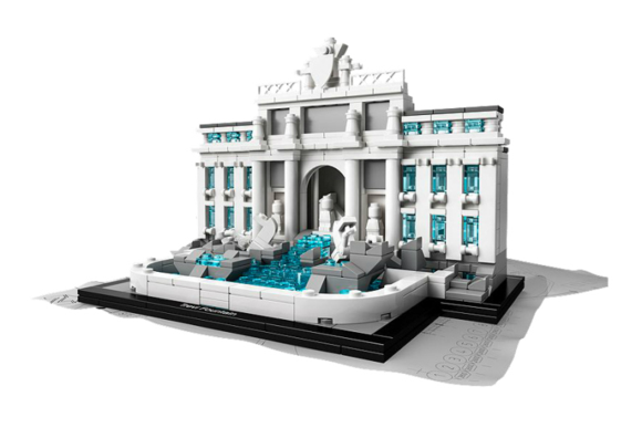 LEGO® Architecture Landmark Series Trevi Fountain