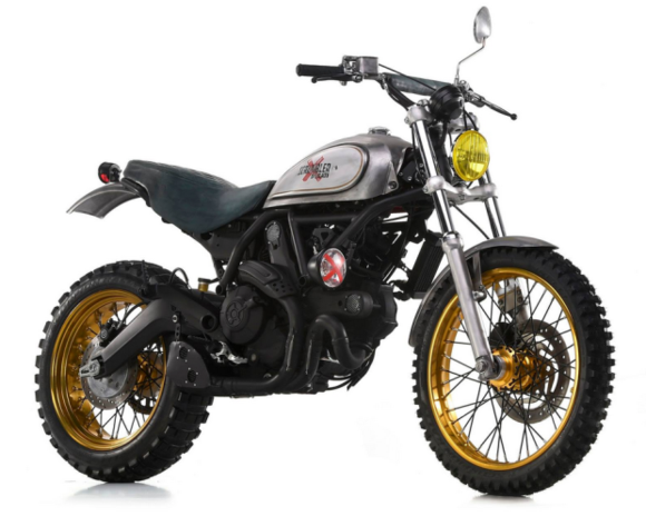 Ducati Scrambler by Officine Mermaid