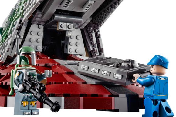 LEGO 2,000-Piece Boba Fett's Slave I