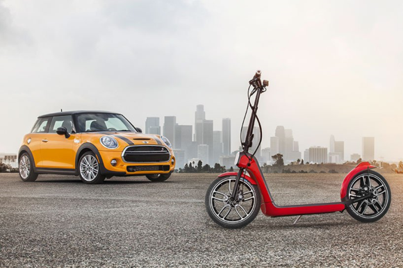 MINI Citysurfer & Collapsible Electric Scooter