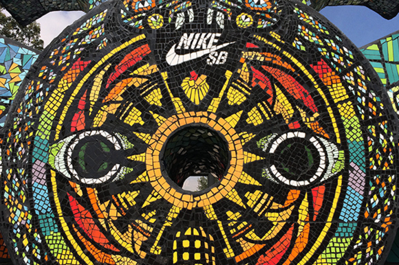 Nike SB Templo Mayor Skatepark Mexico City