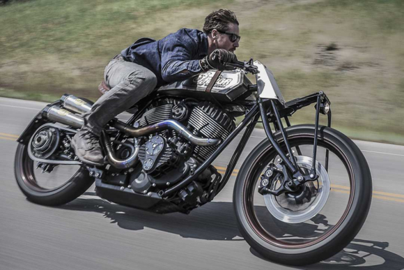 "Roland Sands Custom Indian ""Track Chief"""
