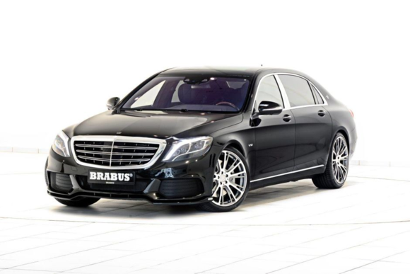 Brabus-tuned Mercedes-Maybach S600