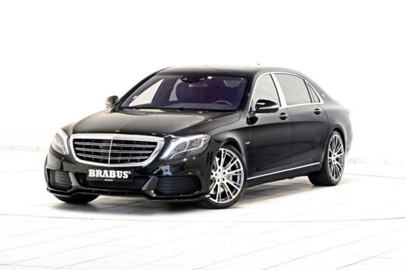 Brabus-tuned Mercedes-Maybach S600