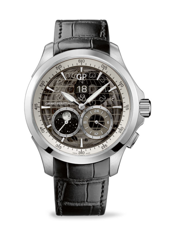 Girard-Perregaux's Traveller Large Date, Moon Phases & GMT