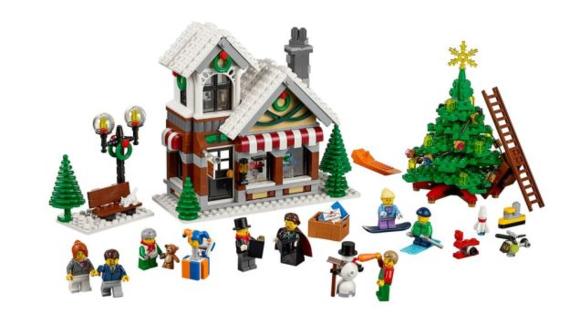 2015 Lego Winter Village Toy Shop