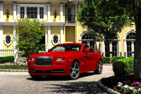 Rolls Royce Wraith St. James Edition