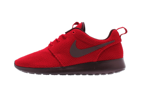 Nike Roshe Run Gym Red/Deep Burgundy